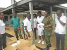 Donation to Military Clinic at Michelle Camp _1