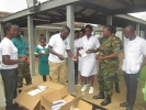Donation to Military Clinic at Michelle Camp _2