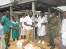 Donation to Military Clinic at Michelle Camp _3