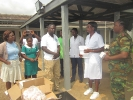 Donation to Military Clinic at Michelle Camp _4