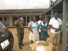 Donation to Military Clinic at Michelle Camp _5