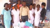 Donation to New Chrystal Hospital in No 1 on July 25, 2015_15